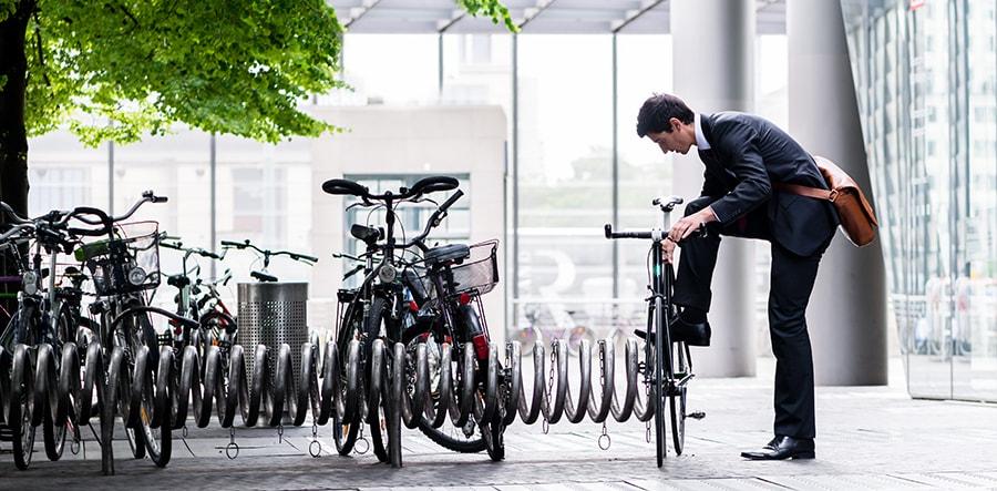 Ofereça estacionamento de bicicletas e atraia mais consumidores