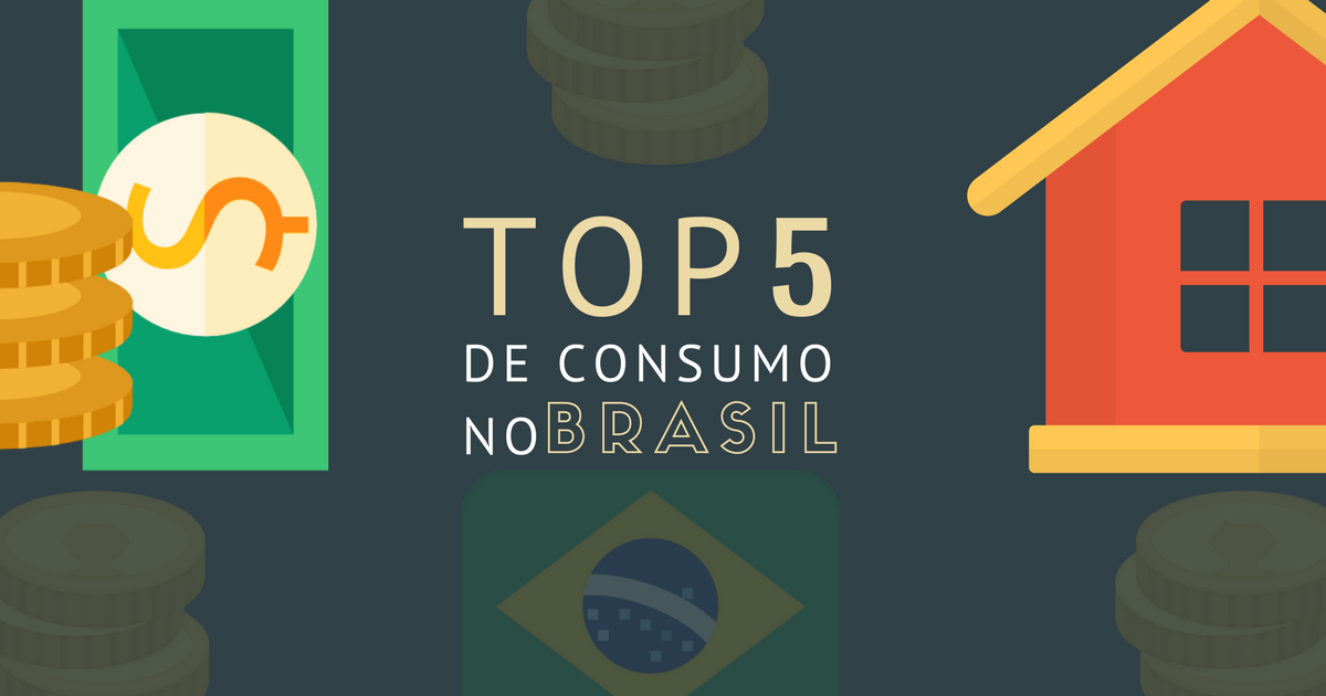 [Infográfico] Top 5: o potencial de consumo dos lares brasileiros