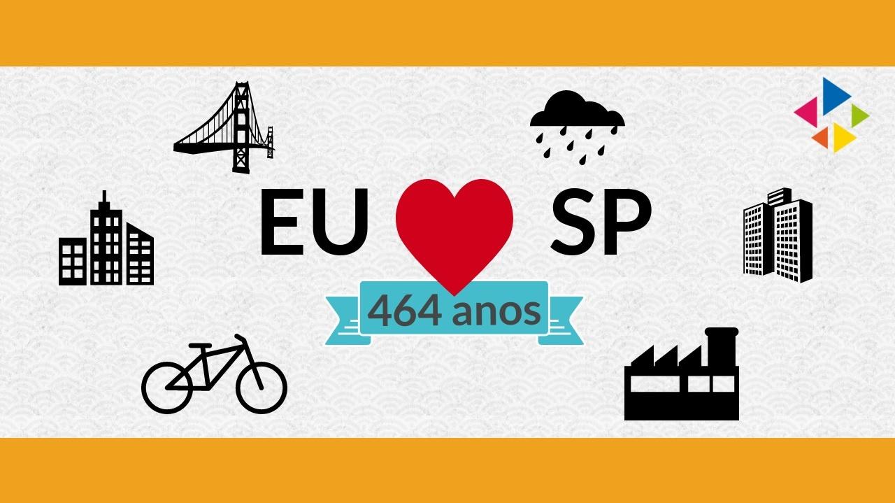 [Infográfico] SP 464 anos: tudo sobre a cidade e os paulistanos